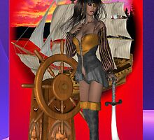 Pirate Pin Up by Delights