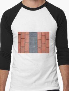 Sidewalk Blocks Men's Baseball ¾ T-Shirt