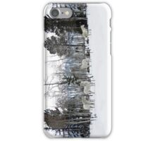 White on White iPhone Case/Skin
