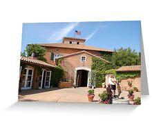 Napa Vally Winery Greeting Card