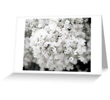 White out Greeting Card