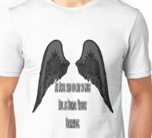Good Omens- Saunter Vaguely Downwards Unisex T-Shirt
