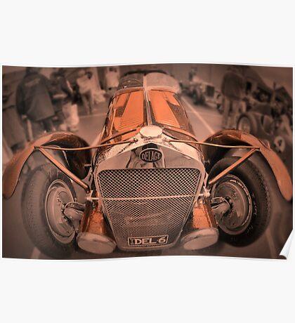 DeLage D670 Le Mans 1936 Poster