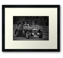 DeLage D670 Le Mans 1936 Framed Print