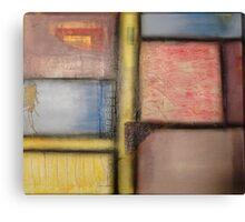 Pastel Blocks Canvas Print