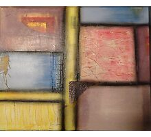 Pastel Blocks Photographic Print