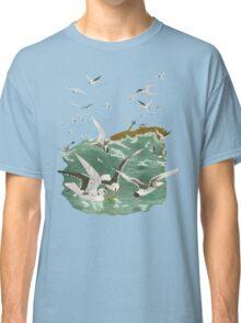 Frenzied Gulls.  Classic T-Shirt