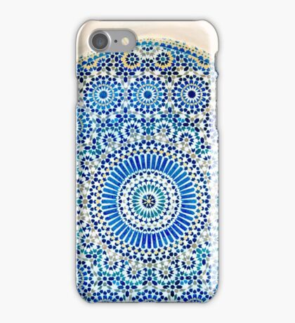morocco mosaic iPhone Case/Skin