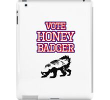 Vote Honey Badger iPad Case/Skin