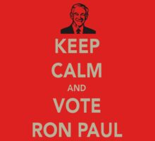 KEEP CALM AND VOTE RON PAUL One Piece - Long Sleeve