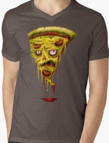 _zombie pizza Mens V-Neck T-Shirt