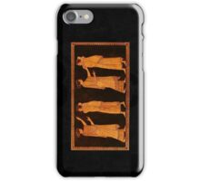 Greek scene iPhone Case/Skin