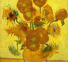Vincent Van Gogh - Sunflowers by lifetree