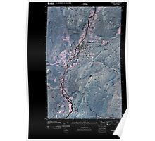 USGS Topo Map Washington State WA Tonasket 20110503 TM Inverted Poster