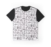 Board Game Pieces Graphic T-Shirt