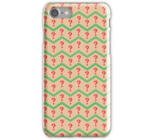 Seventh Doctor Pattern iPhone Case/Skin