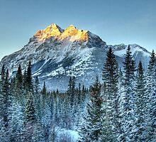 Sun Peaks of Mount Kidd by Justin Atkins