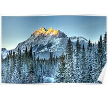 Sun Peaks of Mount Kidd Poster