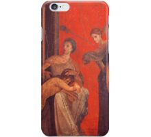 Pompeii, Villa of the Mysteries  iPhone Case/Skin