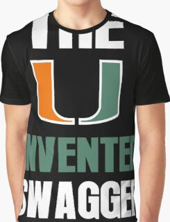 The U Invented Swagger Miami Canes Graphic T-Shirt