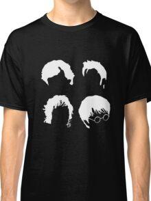 Doctor Who+Sherlock+LoTR+Harry Potter FOR DARK COLOURS Classic T-Shirt