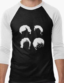 Doctor Who+Sherlock+LoTR+Harry Potter FOR DARK COLOURS Men's Baseball ¾ T-Shirt
