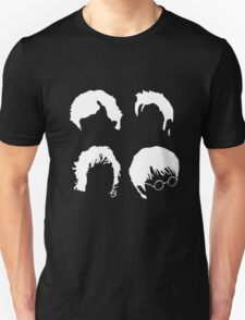 Doctor Who+Sherlock+LoTR+Harry Potter FOR DARK COLOURS T-Shirt