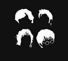 Doctor Who+Sherlock+LoTR+Harry Potter FOR DARK COLOURS Unisex T-Shirt