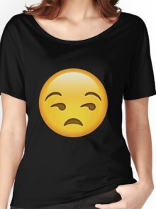 Unamused Emoji Collection Women's Relaxed Fit T-Shirt