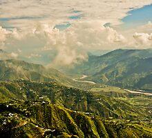 Kashmir valley by M-A-K