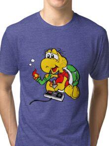 Video Games N' Mushrooms Tri-blend T-Shirt