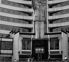 The Mao Statue (Nanning China, 2009) by Os Ishmael