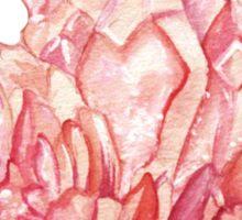 Rose Quartz Crystal Gemstone Sticker