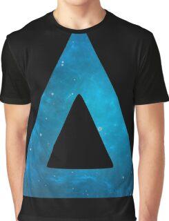 Bastille Galaxy Triangle Graphic T-Shirt