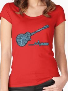 Band Nn Women's Fitted Scoop T-Shirt
