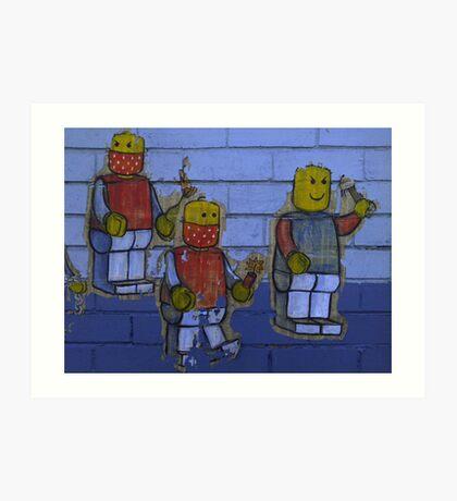 Band of Three Art Print