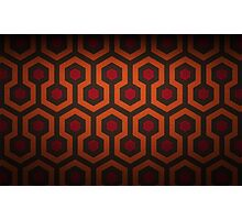 The Shining Carpet Pattern  Photographic Print