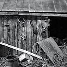 The Barn (b&w) by Robin Black