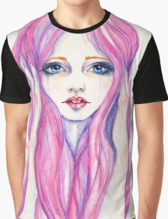 Crying girl  Graphic T-Shirt