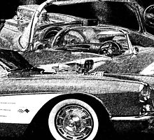 Corvette 1959 by RIVIERAVISUAL