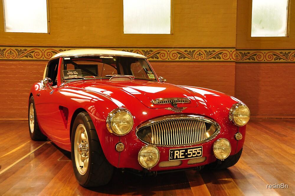 1956 Austin Healey 100 BN Le Mans by resin8n