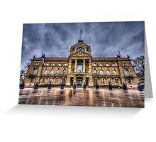 Palais du Rhin Greeting Card