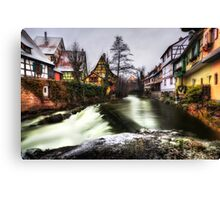 By the Brook Canvas Print