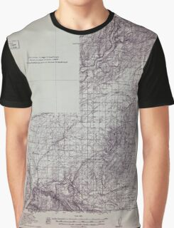USGS Topo Map Washington Wallulah 244524 1915 96000 Graphic T-Shirt