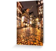 Little Alsace Greeting Card