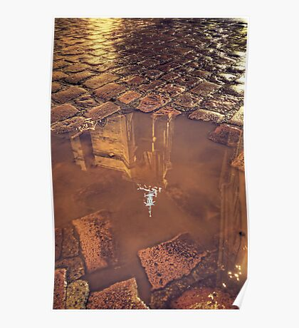 Puddle of St Martin Poster