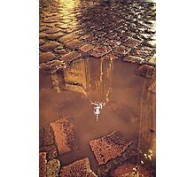 Puddle of St Martin Photographic Print