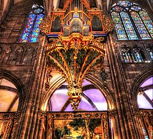 Cathedral Notre Dame De Strasbourg by Luke Griffin