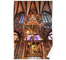 Cathedral Notre Dame De Strasbourg Poster