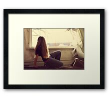 Dreaming of a better life... Framed Print